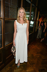 DONNA AIR at a party to celebrate the launch of Sackville's Bar & Grill, 8a Sackville Street, London on 15th July 2015.