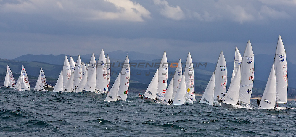 CIUDAD DE SANTANDER Trophy, Isaf sailing World Championships test event. Day 3