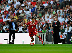 04.06.2011, Wembley Stadium, London, ENG, UEFA EURO 2012, Qualifikation, England vs Switzerland, im Bild Tranquillo Barnetta of Switzerland .England v Switzerland.Euro 2012 qualifying.Wembley Stadium. London. UK. 4/6/11. EXPA Pictures © 2011, PhotoCredit: EXPA/ IPS/ Sean Ryan +++++ ATTENTION - OUT OF ENGLAND/UK and FRANCE/FR +++++