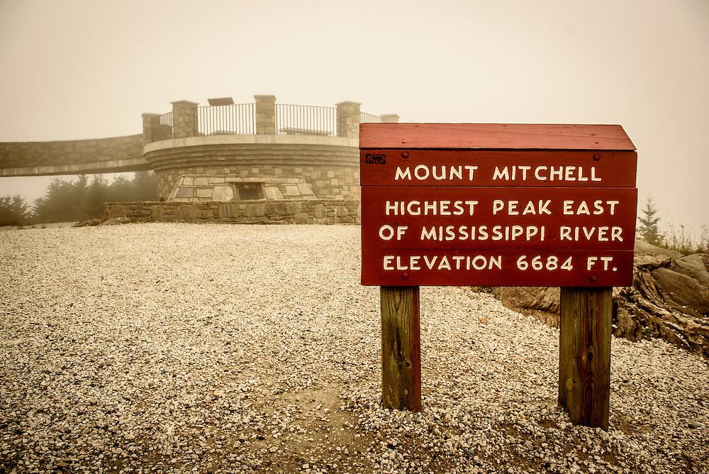 Mt. Mitchell, NC 2015