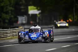 June 4, 2017 - Le Mans, France - 36 SIGNATECH ALPINE MATMUT (FRA) ALPINE A470 GIBSON LMP2 ROMAIN DUMAS (FRA) GUSTAVO MENEZES (USA) MATT RAO  (Credit Image: © Panoramic via ZUMA Press)
