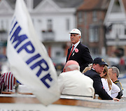 Henley, GREAT BRITAIN, Henley Umpire, Fred SMALLBONE, after a race in the evening session, at 2008 Henley Royal Regatta, on  Friday, 04/07/2008,  Henley on Thames. ENGLAND. [Mandatory Credit:  Peter SPURRIER / Intersport Images] Rowing Courses, Henley Reach, Henley, ENGLAND . HRR