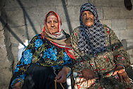 Women living in a fishing community which is also a refugee camp inside of the Gaza Strip.