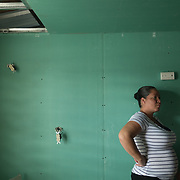 AUGUST 27, 2018--CATA&ntilde;O---PUERTO RICO--<br /> Maria Ayala Febus, 33, resident of Barrio Palmas of Cata&ntilde;o. Ayala has been living with her husband and two children in a relative's house while her house is rebuilt.<br /> (Photo by Angel Valentin/Freelance)