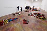 "56th Art Biennale in Venice - All The World's Futures.<br /> Giardini.<br /> Serbia pavilion.<br /> Ivan Grubanov, ""United Dead Nations"", 2015."
