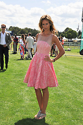 LADY VICTORIA HERVEY at the 27th annual Cartier International Polo Day featuring the 100th Coronation Cup between England and Brazil held at Guards Polo Club, Windsor Great Park, Berkshire on 24th July 2011.