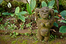 Stonecarvings, Murni's Houses, Ubud, Bali