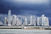 Panama City Modern high rises