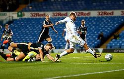 Samu Saiz of Leeds United scores a goal to make it 2-1 - Mandatory by-line: Robbie Stephenson/JMP - 09/08/2017 - FOOTBALL - Elland Road - Leeds, England - Leeds United v Port Vale - Carabao Cup