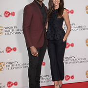 Ore Oduba and Michelle Keegan attend the Virgin TV BAFTA TV Nominations Press Conference, London, UK - 04 April 2018 at BAFTA, Piccadilly, London, UK.
