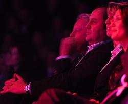 20.11.2011, Stadthalle, Wien, AUT, Jubilaeumsshow, 100 Jahre Fußballklub Austria Wien, im Bild ehm. Finanzminister Josef Pröll, EXPA Pictures © 2011, PhotoCredit: EXPA/ M. Gruber