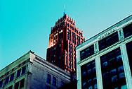 detroit, shot on 9/11/2002<br />night shots at twilight