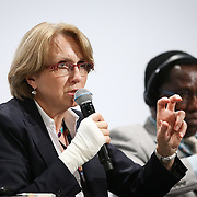 04 June 2015 - Belgium - Brussels - European Development Days - EDD - Climate - A climate change agreement - Towards Paris and beyond - Anne-Marie Descotes , Director General , Department of Globalisation , Development and Partnerships , Ministry of Foreign Affairs , France © European Union