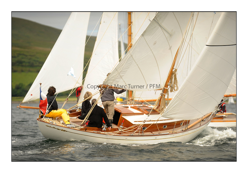 Day three of the Fife Regatta, Cruise up the Kyles of Bute to Tighnabruaich<br /> <br /> Ellad, Didier Griffiths, FRA, Bermudan Sloop, Fairlie Yacht Services 1957<br /> <br /> * The William Fife designed Yachts return to the birthplace of these historic yachts, the Scotland&rsquo;s pre-eminent yacht designer and builder for the 4th Fife Regatta on the Clyde 28th June&ndash;5th July 2013<br /> <br /> More information is available on the website: www.fiferegatta.com