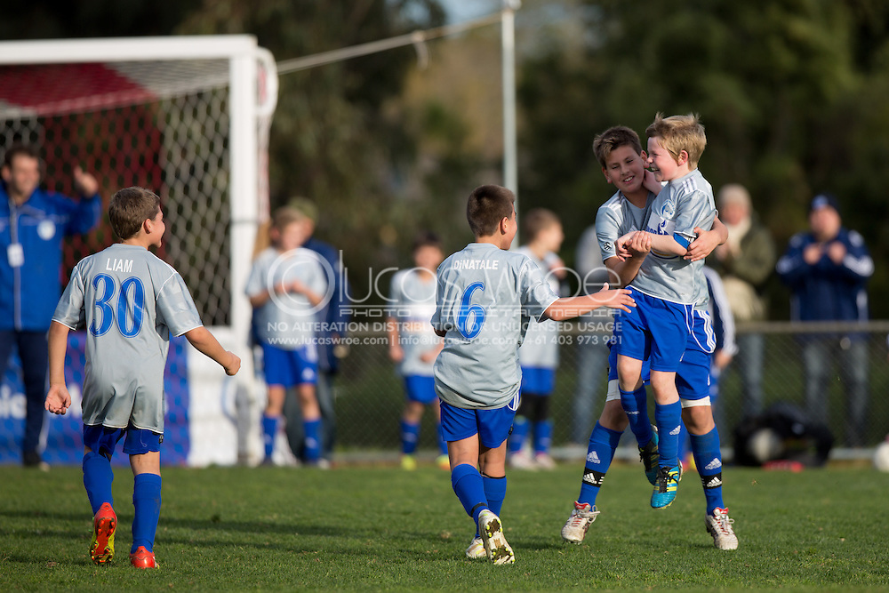 Spring Hills Fc Silver Grey V South Hobart Fc Red And White