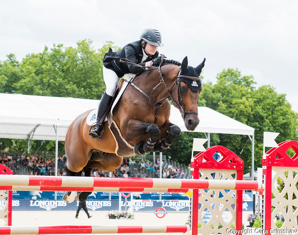 The Grand Prix during the Longines Global Champions Tour, August 6 2017 London UK
