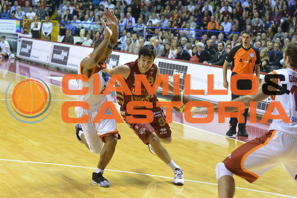 DESCRIZIONE : Venezia Lega A 2012-13 EA7 Umana Venezia Acea Roma<br /> GIOCATORE : ivan zoroski<br /> CATEGORIA : palleggio<br /> SQUADRA : Umana Venezia Acea Roma<br /> EVENTO : Campionato Lega A 2012-2013 <br /> GARA : Umana Venezia Acea Roma<br /> DATA : 18/11/2012<br /> SPORT : Pallacanestro <br /> AUTORE : Agenzia Ciamillo-Castoria/M.Gregolin<br /> Galleria : Lega Basket A 2012-2013  <br /> Fotonotizia : Venezia Lega A 2012-13 Umana Venezia Acea Roma<br /> Predefinita :