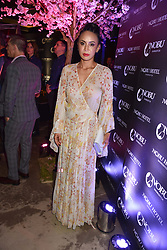 Vicky Lee at the launch of Nobu Hotel London Shoreditch,10-50 Willow Street, London, England. 15 May 2018.
