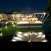 A Prince Maurice Resort | Le Prince Maurice. .La Barachois, une des table mytique de l'île surplombe la lagune...