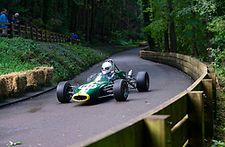 Boness Revival hillclimb motorsport event in Boness, Scotland, UK. The 2019 Bo'ness Revival Classic and Hillclimb, Scotland's first purpose-built motorsport venue, it marked 60 years since double Formula 1 World Champion Jim Clark competed here.  It took place Saturday 31 August and Sunday 1 September 2019. 69. Russell Jordan. Lotus 41C