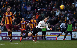 Jack Marriott of Peterborough United scores his sides second goal - Mandatory by-line: Joe Dent/JMP - 26/12/2017 - FOOTBALL - Northern Commercials Stadium - Bradford, England - Bradford City v Peterborough United - Sky Bet League One