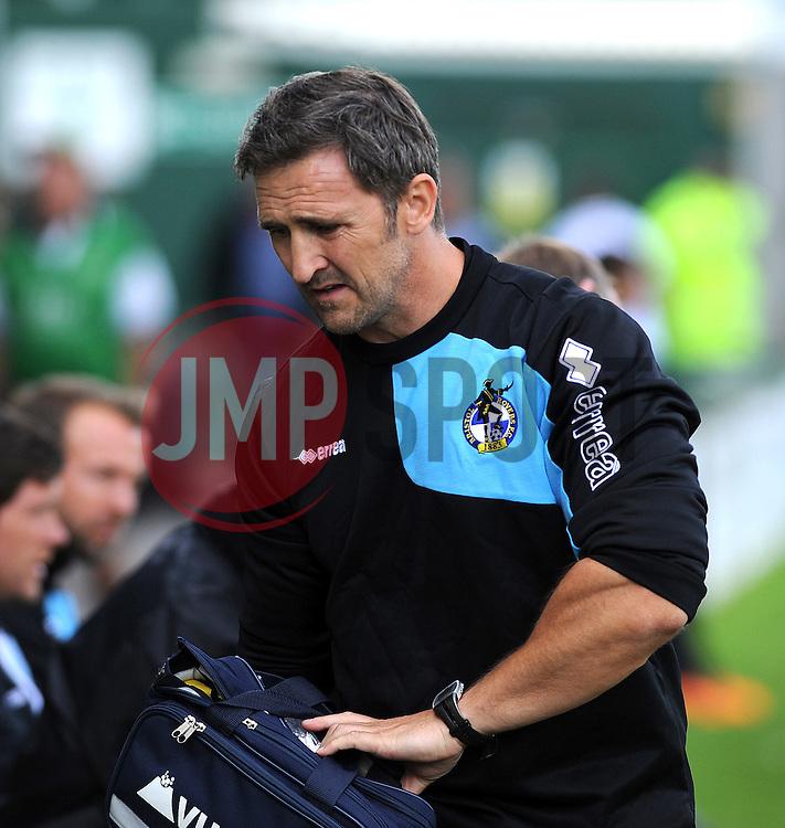 Bristol Rovers physio,Paul Maxwell - Mandatory byline: Neil Brookman/JMP - 07966386802 - 15/08/2015 - FOOTBALL - Huish Park -Yeovil,England - Yeovi Town v Bristol Rovers - Sky Bet League One