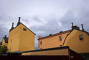 Hus på Bastugatan på Södermalm i Stockholm