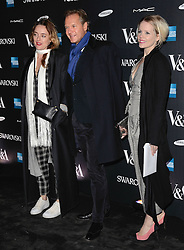 Alice Temperley and guests attend The Alexander McQueen: Savage Beauty VIP private view at The Victoria and Albert Museum, Cromwell Road, London on Saturday 14 March 2015