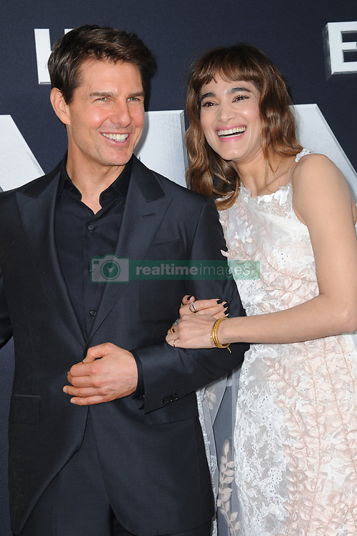 June 6, 2017 - New York, NY, USA - June 6, 2017  New York City..Tom Cruise and Sofia Boutella attending the 'The Mummy' New York Fan Event at AMC Loews Lincoln Square on June 6, 2017 in New York City. (Credit Image: © Kristin Callahan/Ace Pictures via ZUMA Press)