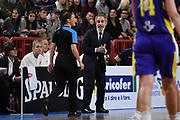 Marco Crespi, arbitro referee<br /> Italia Italy - Svezia Sweden<br /> FIBA Women's EuroBasket 2019 Qualifiers<br /> La Spezia, 21/11/2018<br /> Foto M.Ceretti / Ciamillo-Castoria