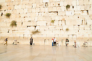 Israel, Jerusalem, Old City, Wailing Wall