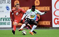 Fotball , 12. mai 2015 ,  1. divisjon , Obosligaen<br /> Hønefoss - Brann<br /> Fredrik Heggland , Brann<br /> Malick Mane , Hønefoss