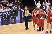 DESCRIZIONE : Milano Lega A 2014-15 <br /> EA7 Olimpia Milano - Acea Virtus Roma <br /> GIOCATORE : Joe Ragland<br /> CATEGORIA : arbitro delusione<br /> SQUADRA : EA7 Olimpia Milano<br /> EVENTO : Campionato Lega A 2014-2015 <br /> GARA : EA7 Olimpia Milano - Acea Virtus Roma<br /> DATA : 12/04/2015<br /> SPORT : Pallacanestro <br /> AUTORE : Agenzia Ciamillo-Castoria/GiulioCiamillo<br /> Galleria : Lega Basket A 2014-2015  <br /> Fotonotizia : Milano Lega A 2014-15 EA7 Olimpia Milano - Acea Virtus Roma