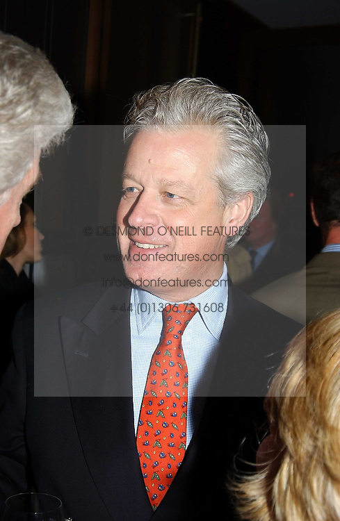 LORD KENILWORTH at a fashion show of the new fashion label Chester Bonham held at the Aston Martin Showroom, Park Lane, London on 15th November 2004.<br />