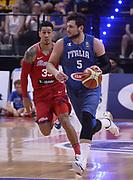 DESCRIZIONE: Biella Gran Gala' del basket - Italia - Portorico<br /> GIOCATORE: Alessandro Gentile<br /> CATEGORIA: Nazionale Italiana Maschile Senior<br /> GARA: Biella Gran Gala' del basket - Italia - Portorico<br /> DATA: 30/06/2016<br /> AUTORE: Agenzia Ciamillo-Castoria