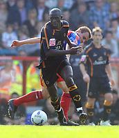 Fotball<br /> England<br /> Wolverhampton<br /> Foto: Colorsport/Digitalsport<br /> NORWAY ONLY<br /> <br /> Seyi Olofinjana  (Wolves). Crystal Palace v Wolverhampton Wanderers. 14/4/2007