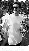 Jay McInerney at the artists & writers softball game. Bridgehampton.1993. Film 93345f5<br />