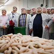 A sausage club, Makkaraklubi, visiting a sausage factory / Etelä-Suomen Sanomat 2013
