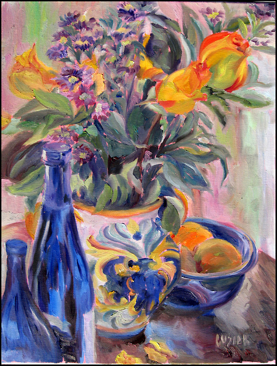 "Oil on Linen, 24""h x 18""w, SOLD"