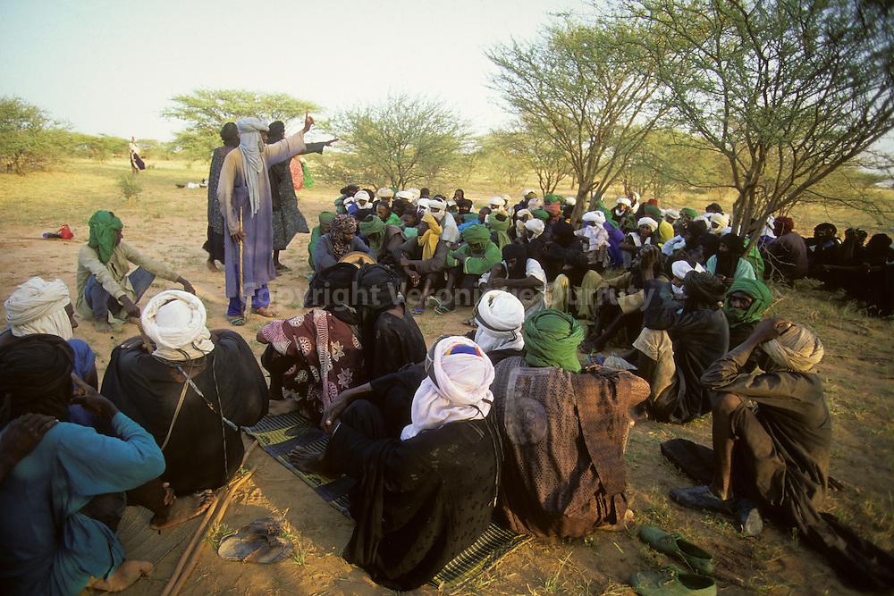 Nomadic People Of Niger