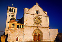 Basilica di San Francesco, Assisi, Umbria, Italy
