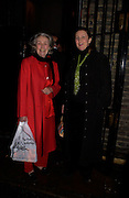Princess Jean Kalitzine with her daughter Katya Galitzine, 1812 Napoleon's Fatal March on Moscow by Adam Zamoyski book launch. Avenue Studios. Fulham Rd. 5 April 2004. ONE TIME USE ONLY - DO NOT ARCHIVE  © Copyright Photograph by Dafydd Jones 66 Stockwell Park Rd. London SW9 0DA Tel 020 7733 0108 www.dafjones.com