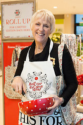 "Tricia Stewart, the original WI ""Calendar Girl""  helps launch of Emma Bridgewater's stunning homeware range at HomeSense Leeds on Thursday afternoon.  Emma Bridgewater's exclusive range for Red Nose Day 2013 is available from HomeSense  and TK Maxx stores....7 March  2013.Image © Paul David Drabble"