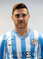 """Spain - La Liga BBVA  2014-2015 / <br /> ( Malaga C.F. ) - <br /> Vitorino Gabriel Pacheco Antunes """" Vitorino Antunes """""""