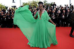 Lupita Nyong'o attends the opening ceremony and the screening of 'La Tete Haute' at the 68th Cannes Film Festival on May 13, 2015 in Cannes, France. Photo by Lionel Hahn/ABACAPRESS.COM