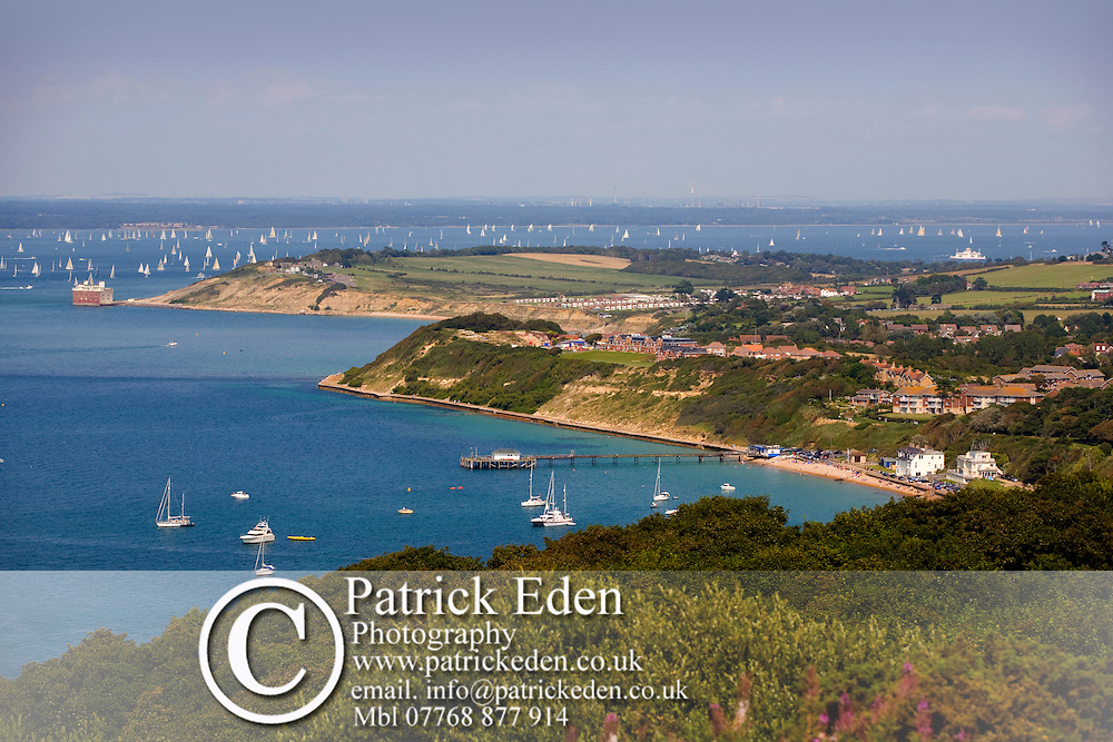Headon Warren, Alum Bay, Needles, Gorse, Totland Bay, Isle of Wight, England, UK, West Wight Photographs of the Isle of Wight by photographer Patrick Eden photography photograph canvas canvases