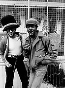 Don Letts with Dennis Morris