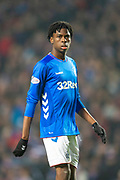 Oviemuno Ejaria (#10) of Rangers FC during the Ladbrokes Scottish Premiership match between Rangers and Aberdeen at Ibrox, Glasgow, Scotland on 5 December 2018.