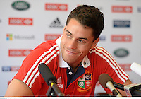 31 May 2013; Sean Maitland, British & Irish Lions, during a press conference ahead of their game against Barbarian FC on Saturday. British & Irish Lions Tour 2013, Press Conference, Grand Hyatt Hotel, Hong Kong, China. Picture credit: Stephen McCarthy / SPORTSFILE