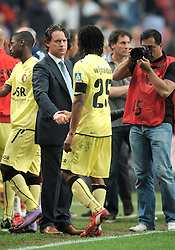 25-04-2010 VOETBAL: AJAX - FEYENOORD: AMSTERDAM<br /> De eerste wedstrijd in de bekerfinale is gewonnen door Ajax met 2-0 / Mario Been en Stanley Gontha<br /> ©2010-WWW.FOTOHOOGENDOORN.NL